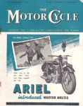The Motor Cycle Magazine 24th Feb 1949